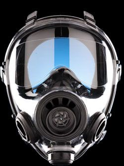 SGE 400/3 Gas Mask - M/L w/ Int & Ext Drinking Device & Canteen