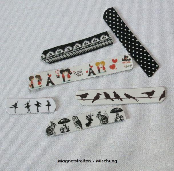 Set(1) Magnetstreifen, Liebe, Vögel, Elfe, Magnet von ღKreawusel-Designღ auf DaWanda.com