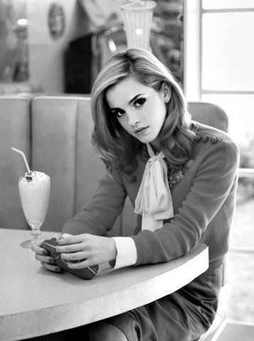 The saddest thing for a girl to do is to dumb herself down for a guy.~Emma Watson
