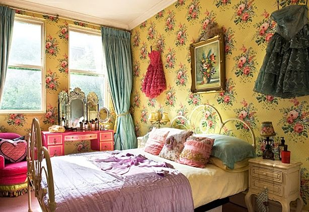 Boho Shabby Chic Bedroom | For the Home | Pinterest