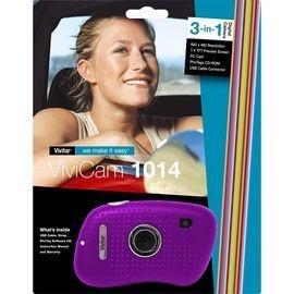 Vivitar V15 ViviCam 1.3 Megapixel 3x Optical Zoom Digital Camera (Purple) $9.99 KMart Black Friday...perfect for Jenna!