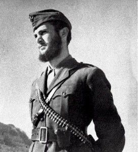 O Δημήτρης Δημητρίου (Νικηφόρος), διοικητής της εφεδρικής δύναμης του ΕΛΑΣ