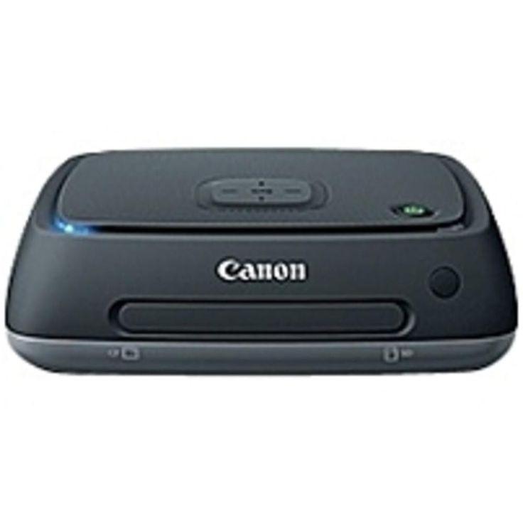 Canon Connect Station CS100 1 TB External Network Hard Drive - Gigabit Ethernet - Wireless LAN - USB 2.0 - Portable - Black