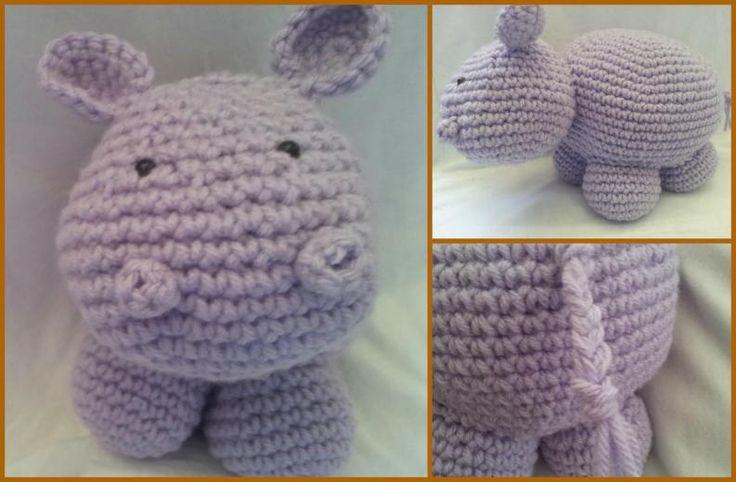 ¿Te gustan los animales de amigurumi? Pues si te gustan y has desarrollado tus habilidades con el crochet, no te pierdas esta manualidad, te enseñaremos cómo hacer un hipopótamo en crochet con un patrón bien sencillo.Sin dudas este hipopótamo de ganchillo te quedará estupendo si sigues los pasos que te mostramo