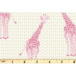 Riley Blake - Safari Party - Giraffe Sparkle - Gold (SC6501)
