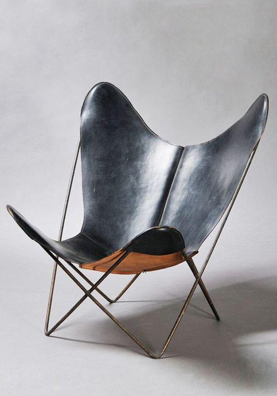 Jorge Ferrari Hardoy / Antonio Bonet / Juan Kurchan - BKF / Butterfly / Sling Chair - 1938