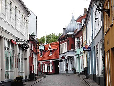 Centre ville d'Ebeltoft