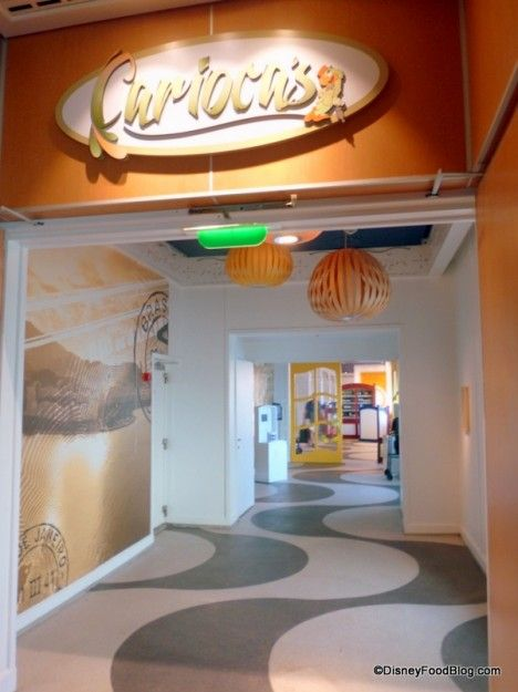 Review: Carioca's on the Disney Magic Cruise Ship