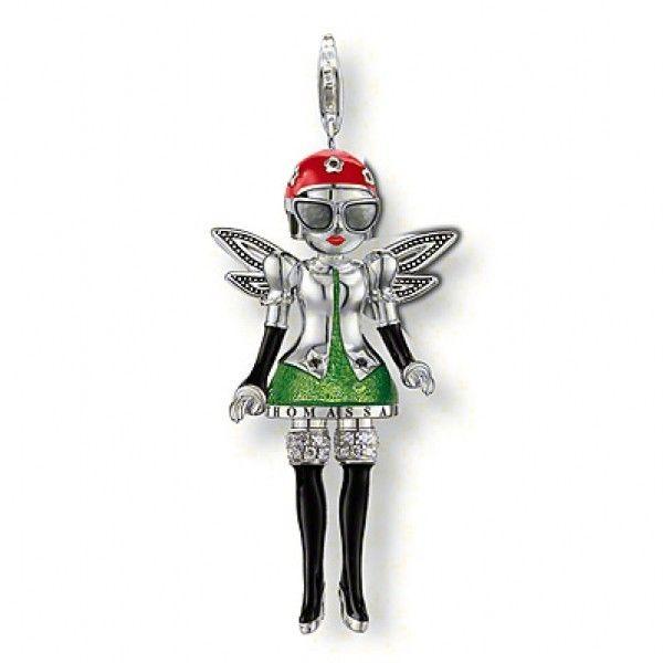 thomas sabo pendants sale uk thomas sabo Garden fairy big pendant/cus0731