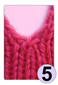 Crossing stitches:  one way to avoid a hole on a vertical opening in knitwear - from TECHknitting blog