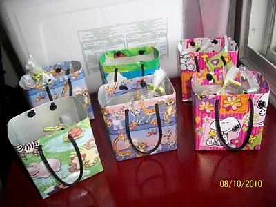faculmamães: ideias para o saquinho surpresa e com que preencher o saco surpresa: Ideas For, Box, Ideia Para