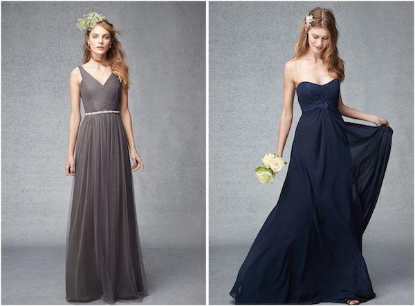 Autumn Bridesmaids dresses from Monique Lhuillier