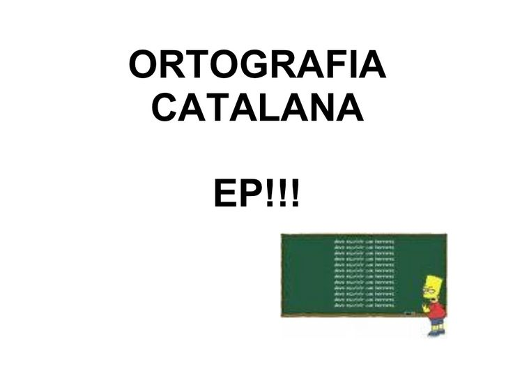 EP! Ortografia imprescindible!!! by Panotx via slideshare