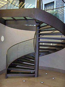 escalera caracol con cinta helicoidal nº15 Venta de Escaleras y Barandas - Novo Design