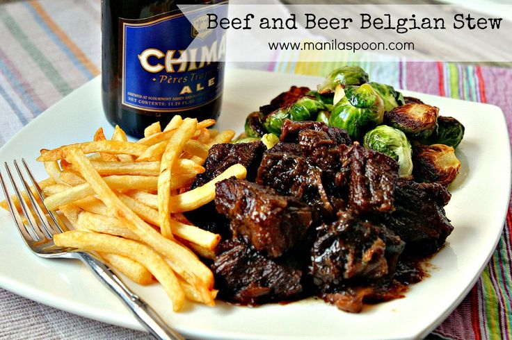 Beef and Beer Belgian Stew (Carbonnades a la Flamande) - for me, this ...