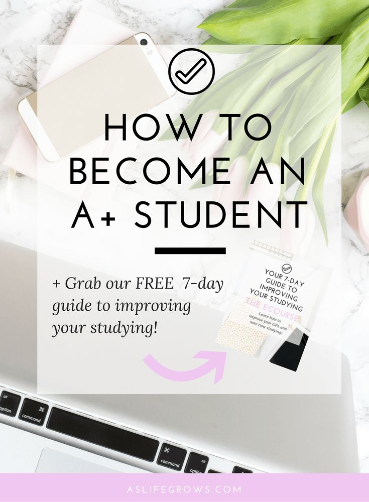 Are you ready to become an A+ student? If so, then this post shares ten things that you need to do in order to boost those grades!