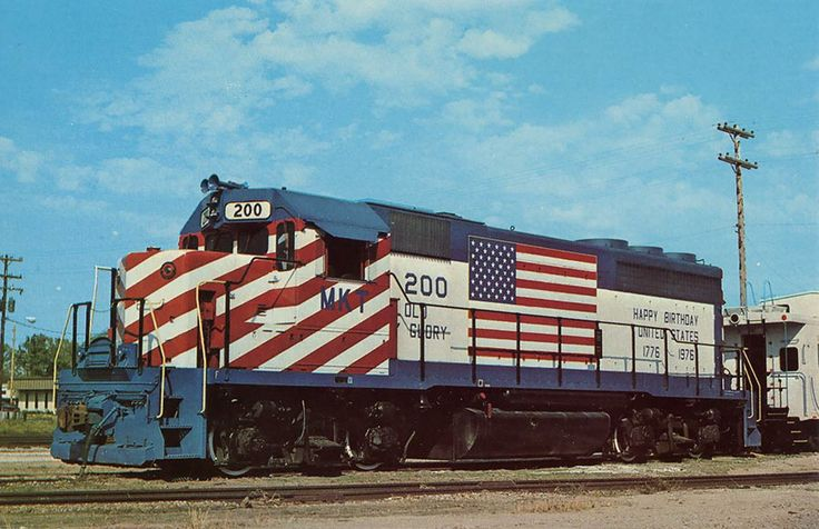 152 best images about bicentennial trains on pinterest for Kc paint shop