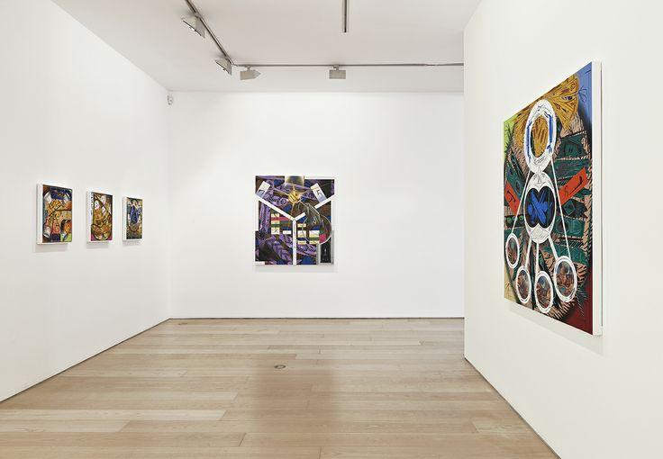 Bernier/Eliades Gallery | Lari Pittman | 2013 | Installation View | Photo by Boris Kirpotin