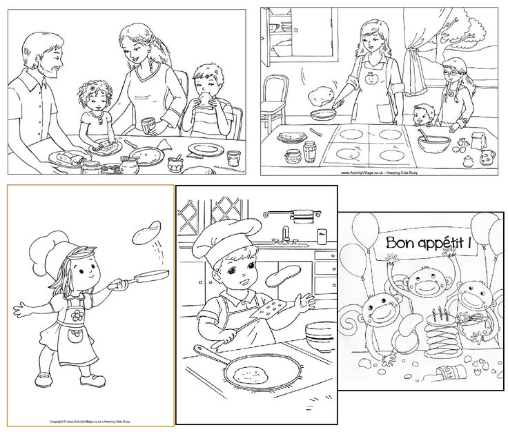 La Chandeleur : activités et coloriages sur les crêpes. February 2, celebrate Candlemas with crepes in France