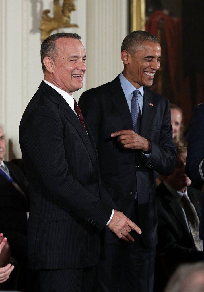 Honore Medal of Freedom Tom Hanks...two of my favorite people!