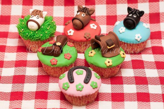 Sugar Cakes: CupCakes Caballos!!