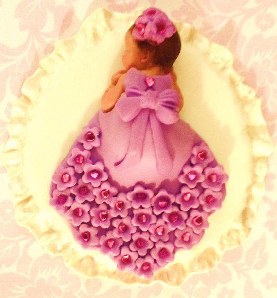 To to cute. Cant go wrong with this pretty cake topper . Baby Shower, Birthday, Baptism, Cake Topper, christening   $28.00 USD