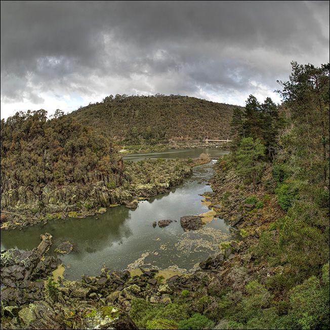 The first basin cataract gorge Launceston Tasmania
