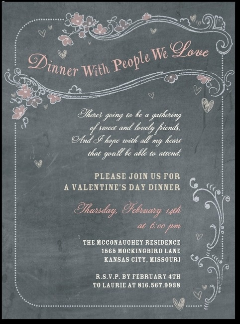 Best 25 dinner party invitations ideas on pinterest for Valentines dinner party ideas