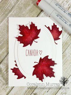 Sunrise Stamper: Happy Canada Day!!!!  www.sunrisestamper.blogspot.ca