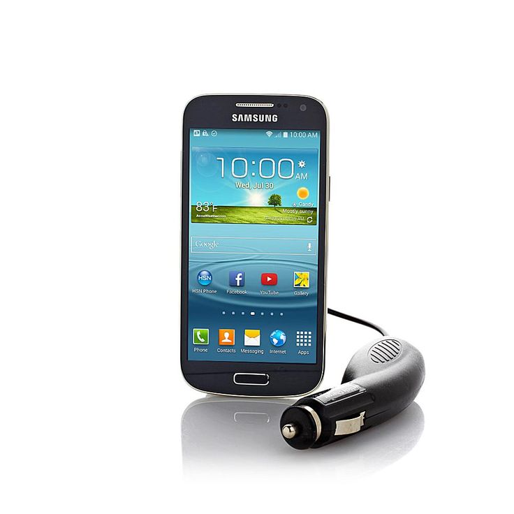 "Samsung Galaxy S4 Mini 4.3"" Android No-Contract Smartphone with 8MP Camera and App Pack - Sprint Prepaid"