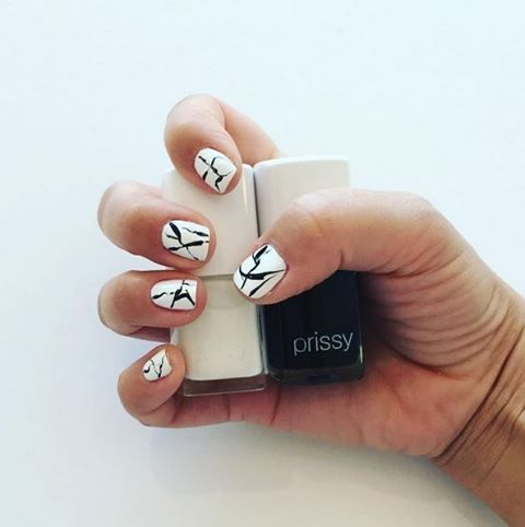Marble Nails with Pure & Allure. Shop at The Organic Project