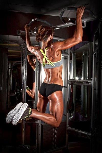 Image result for hot fit chick pull up