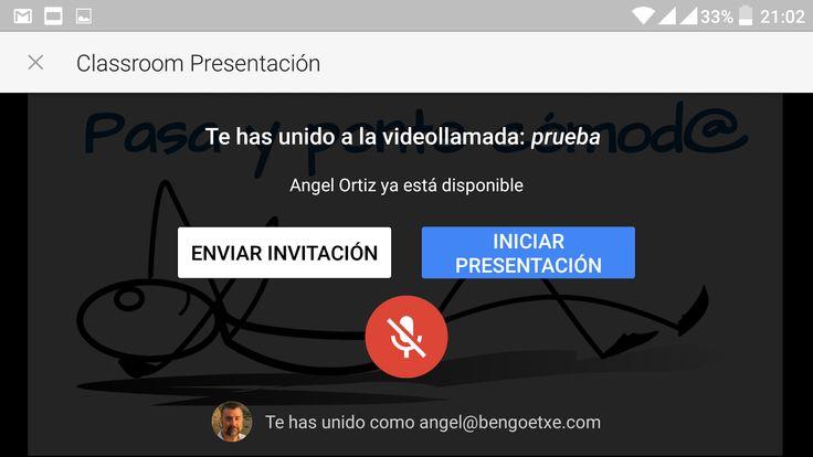 El dispositivo móvil como presentador de diapositivas | Vía: En la nube TIC
