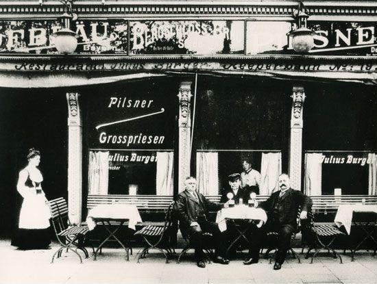 Freizeitvergnügen in Hamburg kurz nach der Jahrhundertwende