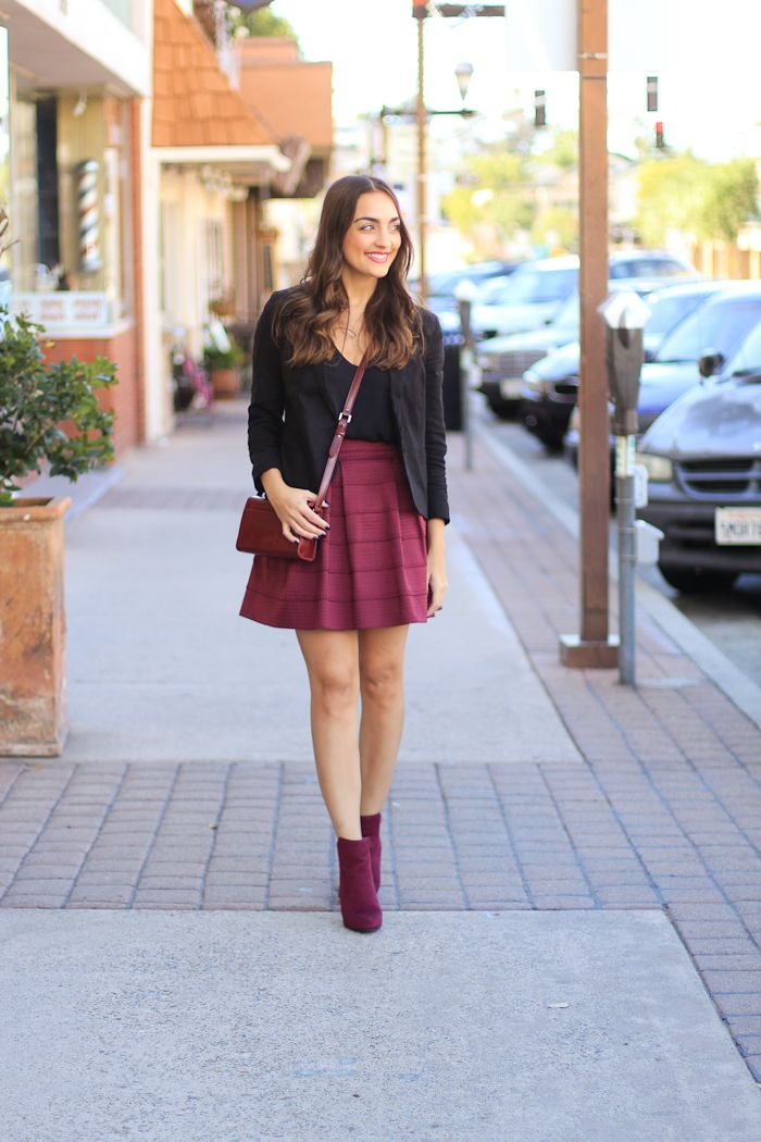 Oxblood Booties for the Holidays!