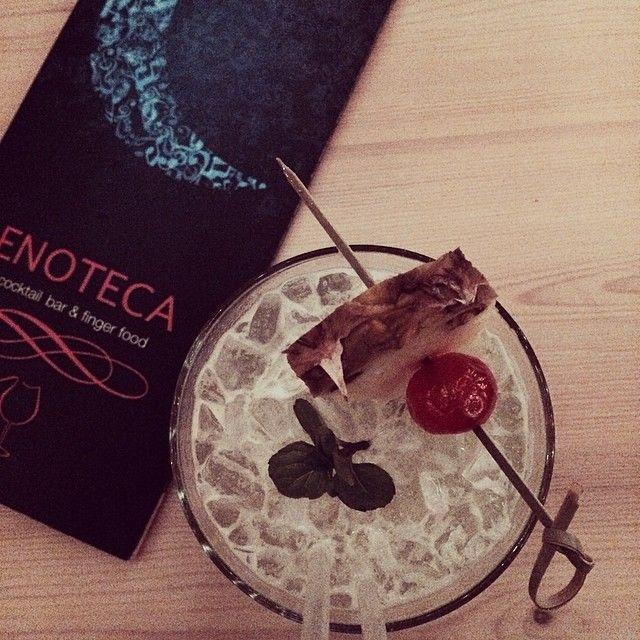 Enjoy a #cocktail! #enotecabar