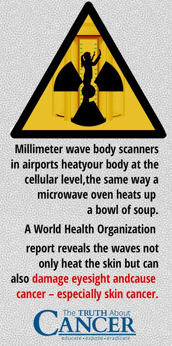 Have you ever wondered if the full body scanner at the airport is safe? Click on the image to get the inside scoop on their link to cancer and what to opt for instead.