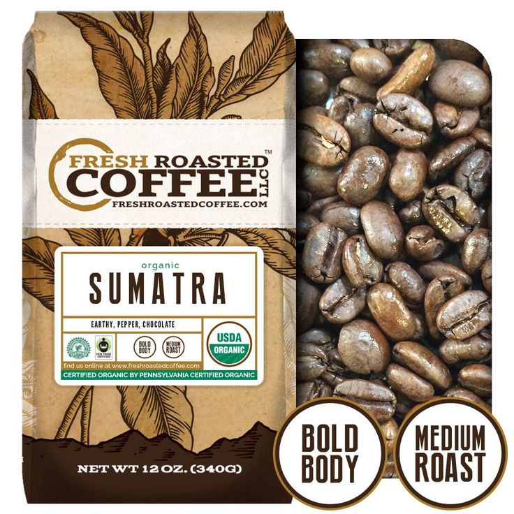 FTO Sumatra Coffee - Rainforest Alliance