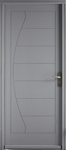 64 best images about porte bois bel 39 m on pinterest reunions entrance doors and salsa - Poignee porte contemporaine ...