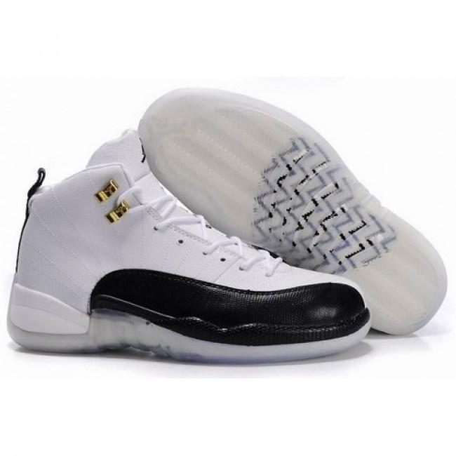 Air Jordan 12 Transparent Sole White Black , Price: - Air Jordan Shoes,  2017 New Jordan Shoes, Michael Jordan Shoes