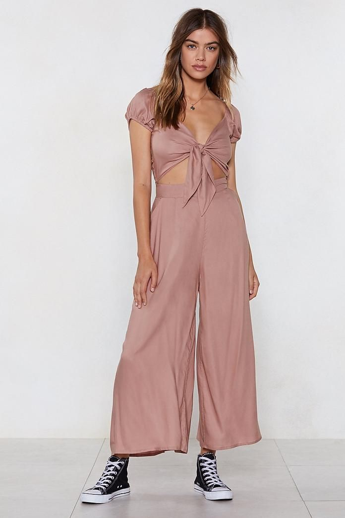 f0d61d71e83 Don t Even Tie It Babe Jumpsuit in 2019