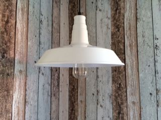 Mr Ralph - Barn Pendant White, Pendants