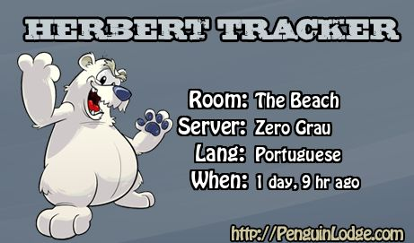 Club Penguin Herbert Tracker