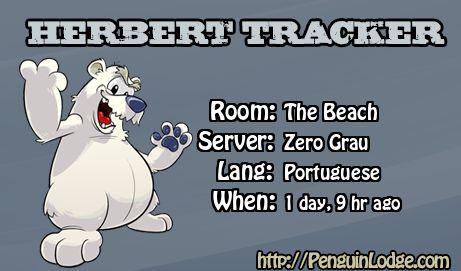 Club Penguin Herbert Tracker