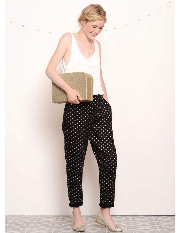 Préférence Les 25 meilleures idées de la catégorie Pantalons à pois sur  ZD21