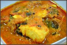 Tamilnadu style fish curry/Meen Kulambu