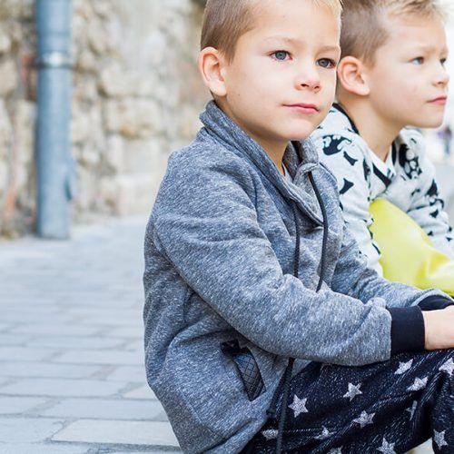 Szürke pulóver - Bozoki Kids Fashion
