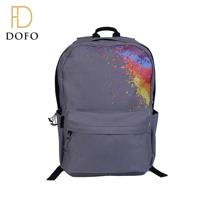 Custom design high quality school backpacks waterproof foldable anti theft backpack