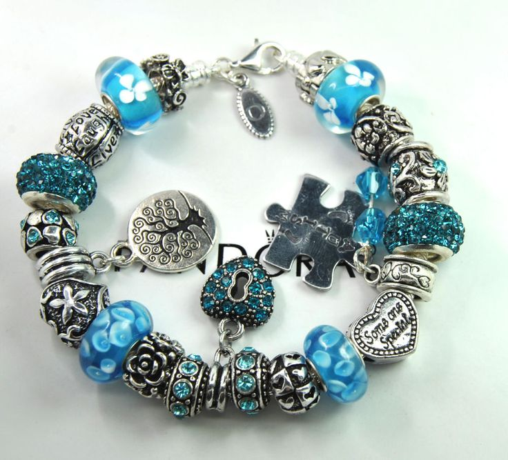 Autism Charms For Pandora Bracelets: 58 Best Pandora Bracelet With Non Branded Charms Green