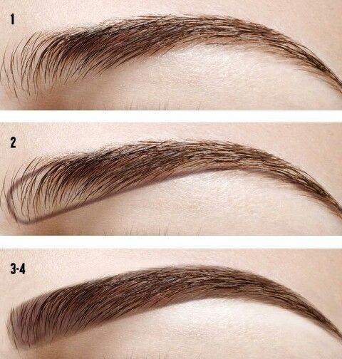 Imagem de eyebrows, makeup, and diy